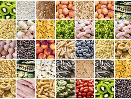 Kupfer-Lebensmittelkombination