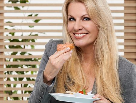 Vitamin-A-Quelle Lachs essen